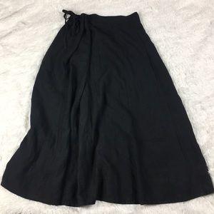 Krista Larson maxi drawstring skirt